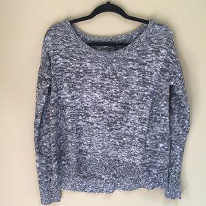 American Eagle Black/Gray Sweater Size Medium